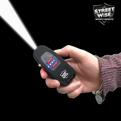 Streetwise Key Fob Key Chain 24,000,000 Volt Stun Gun/Flashlight - USB Charging