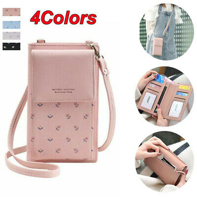 Women Crossbody Small Cell Phone Shoulder Bag Purse Wallet with Credit Card Slot