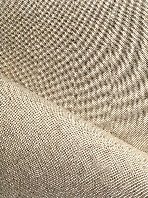 Natural raw 32 Count Zweigart Floba even weave fabric - various size options