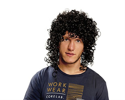 Clothing-Viving Costumes (201375) Rockstar Wig (One Siz (UK IMPORT) CLOTHING NEW