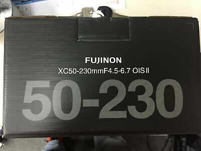 FUJIFILM FUJINONN XC 50-230mm f/4.5-6.7 OIS II X-Mount Lens Black ( Retail Box )