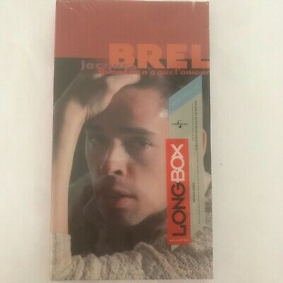 Jacques BREL quand on n 'a que l'amour Long box 3 cd neuf sous blister
