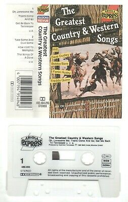 The Greatest Country & Western Songs Music Cassette Mc