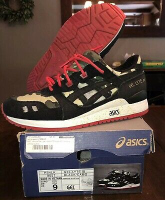 296aba0018493 SIZE 11.5 ASICS x Bait Gel Lyte III 3 Teal Dragon Exclusive Global ...