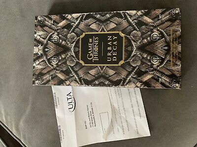 Game of Thrones Urban Decay GAME OF THRONES EYESHADOW PALETTE - NEW Receipt