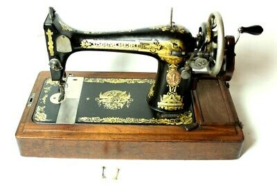 Vintage Singer 127k Hand Crank Sewing Machine c1912 [5367]