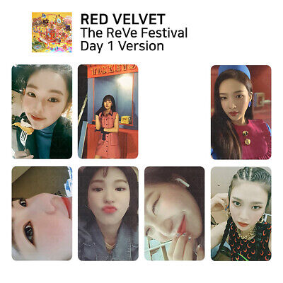 RED VELVET - The Reve Festival Day 1 Official Photocard (Day 1 Ver.)