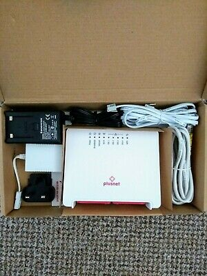 PLUSNET SAGEMCOM 2704N Wireless Wi-Fi Router with WPS (Boxed