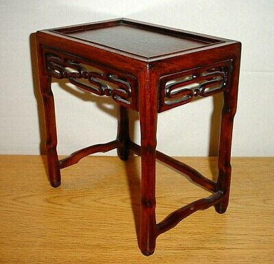 Antique Chinese Stool Table Display Stand