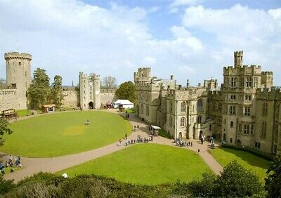 4 x Warwick Castle Tckts (Full Entry Adults/Child)-CHOOSE YOUR DATE WORTH £110.0