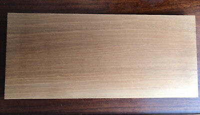 1 × Solid Honduran Mahogany Wood Sheet 3mm