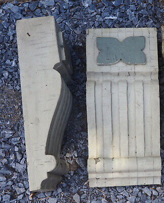 2 Large Vintage Antique Architecture Corbels