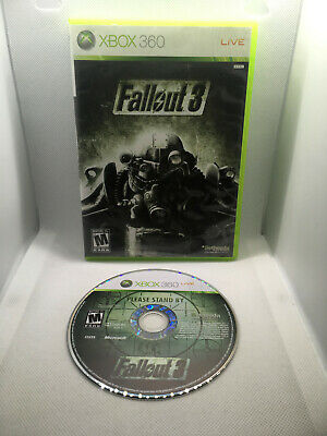 Fallout 3 - Case and Disk - Xbox 360