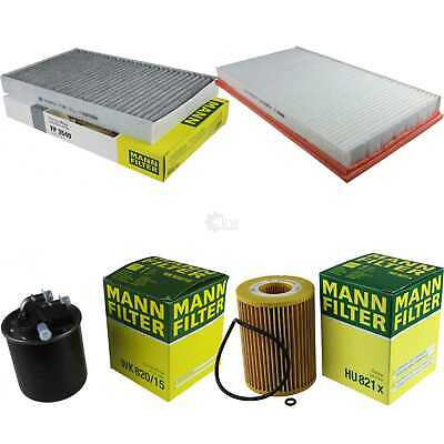Mann-Filter Set Mercedes-Benz Vito / Boîte Mixto W639 122 CDI Viano