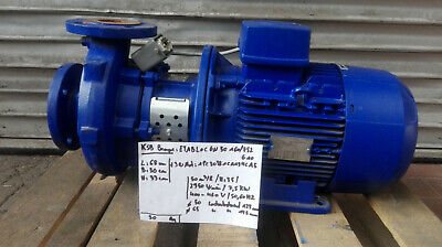 Ksb Circulation Pump / Etabloc-GN50 160/752 Very Good Condition