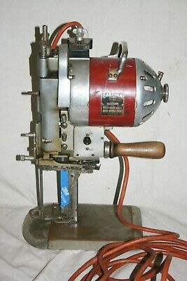 Vintage Eastman Class 561 Straight Knife Industrial Textile Cutting Machine 220V