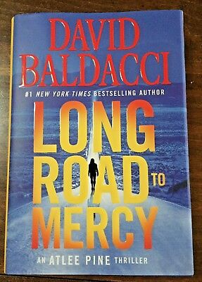 LONG ROAD TO MERCY by David Baldacci (2018, Hardcover) Atlee Pine #1