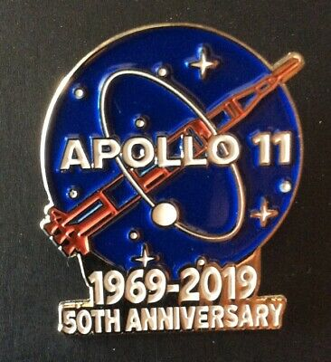 Apollo 11 Pin 50Th Anniversary Nasa 1969 - 2019 Space Limited Patch In Ebay Shop