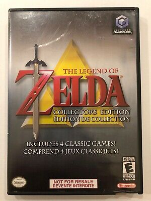 Legend of Zelda : Collector's Edition [ Nintendo Gamecube ] Complete