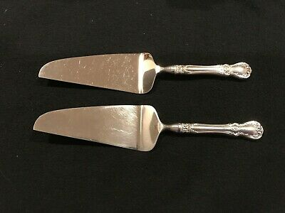 """Towle Old Master Sterling Silver Handle Cake/Pie Server - 10-1/2"""" - NO MONO"""
