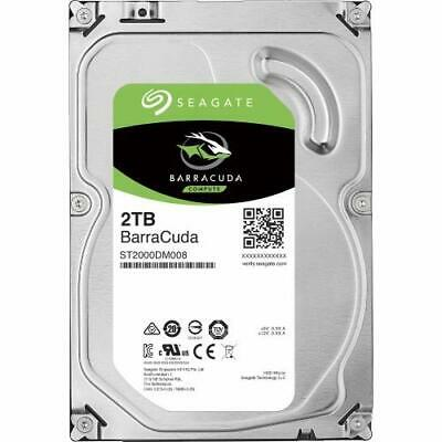 "Seagate 2Tb Barracuda 3.5"" 7200Rpm Sata3 6Gb/ S 256Mb Cache Hdd. St2000Dm008 2 Y"