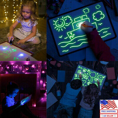 Draw With Light Fun And Developing Toy Drawing Board Magic Draw Educational AU
