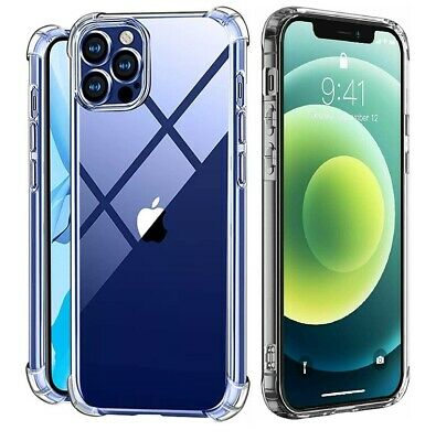 For iPhone X XS XR XS Max 6 6s 7 8 Plus Clear Shockproof Protective Cover Case