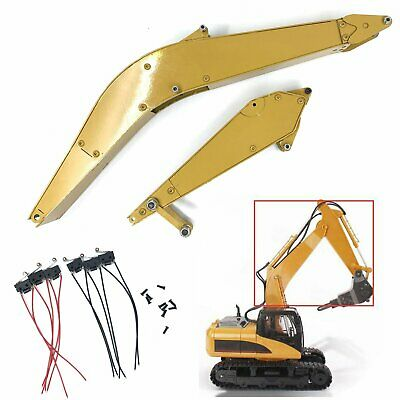 Large & Small Arm Fittings for Huina 15CH RC Excavator RC Car Accessories Parts
