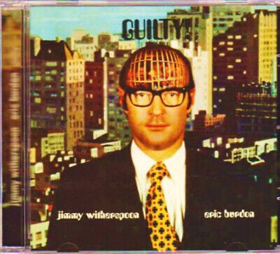 CD - Eric Burdon / Jimmy Witherspoon - GUILTY!  (1990)