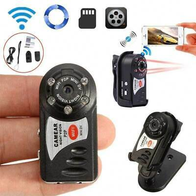 Q7 Wireless WIFI Spy Hidden Camera Mini P2P Video Recorder DVR Night Vision
