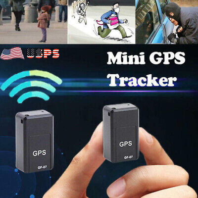 Magnetic Mini GPS Tracker Car GSM GPRS Real Time Tracking Locator Device US