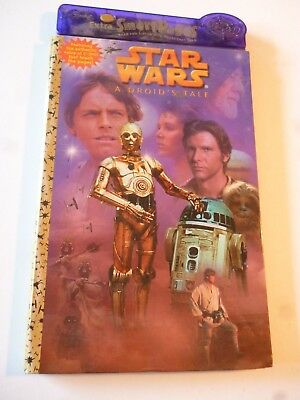 Star Wars Interactive Book A Droid's Tale Real Voice Of C-3P0 Golden Books