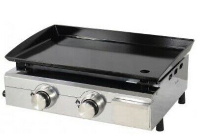 New, Best Selling 2 Burner Lpg Gas Griddle, For Outside Use Only