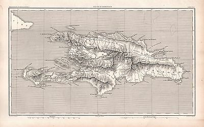 1859 Duvotenay Map-Spain-France-Dominica West Indies