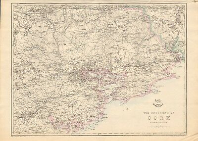 20x24 State of Ohio 1863 Vintage Style Large Township Map