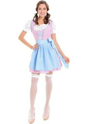 73cb21223d0c2 SPIRIT HALLOWEEN OKTOBERFEST BAVARIAN WAITRESS COSTUME (M) Great ...