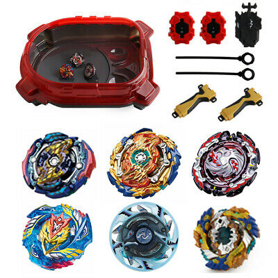 6Pcs Beyblade Burst Evolution Arena Launcher Battle Platform Stadium Toys