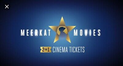 MEERKAT MOVIES 2-for-1 CINEMA FILM TICKET CODE - Odeon Vue CineWorld