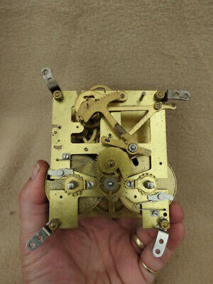 Vintage Perivale 8 Day Striking Clock Movement For Spares