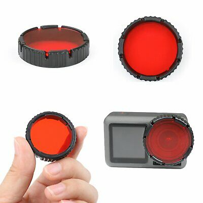 Plastic Diving Lens Filter For DJI OSMO Action Sports Camera Underwater Shooting