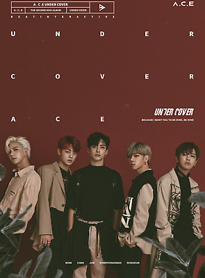 KPOP A.C.E ACE, UNDER COVER, 2nd Mini Album, Korea CD