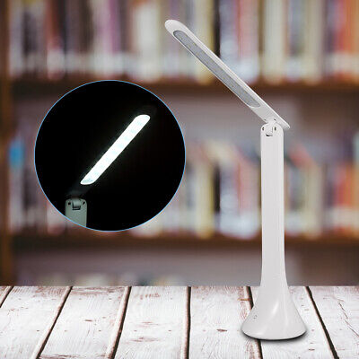 Portable USB Rechargeable Touch Sensor LED Desk Lamp Adjustable Reading Light