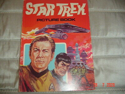 star trek picture book total special edition very slight wear