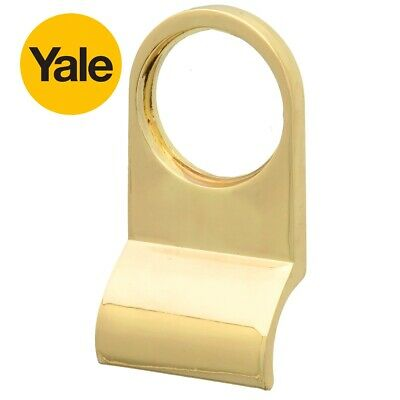 YALE BRASS CYLINDER PULL Victorian Front Door Closer Night Latch Keyhole Handle