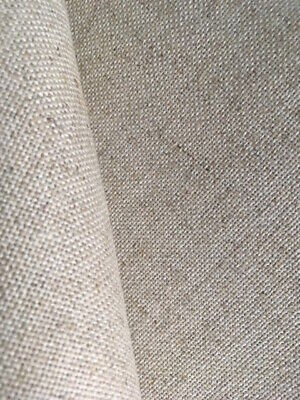 Natural raw 25 Count Zweigart Floba even weave fabric - various size options