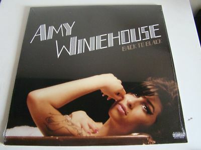 Amy Winehouse Back To Black Vinile Lp U.s.a. Nuovo E Sigillato !!