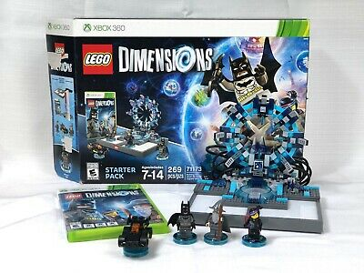 LEGO Dimensions Xbox 360 Starter Pack 71173 99.9% Complete Missing 1 Weapon
