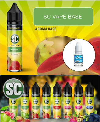 SC Vape Base 50ml Shake and Vape E-Liquid Shake & Vape Liquid + Nikotin Shot