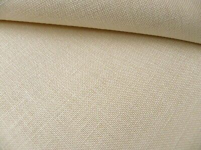 Ivory / cream 32 Count Zweigart Belfast linen even weave fabric size options