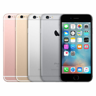 Apple iPhone 6s - 16GB Factory GSM Unlocked AT&T T-Mobile + More - Very Good